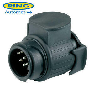 7 Pin Plug Trailer Caravan Adaptor A0035 Ring Towing 13 Pin Socket