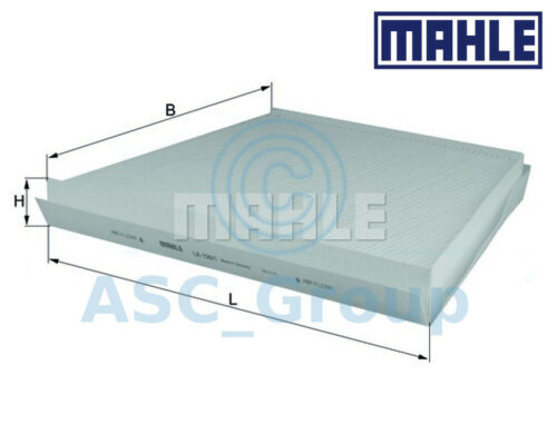Genuine MAHLE Replacement Interior Air Cabin Pollen Filter LA 156//1 LA156//1