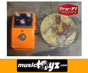 Tru-Fi-Colordriver-Overdriver-Power-Booster-Guitar-Pedal-NEW-Auth-Gift