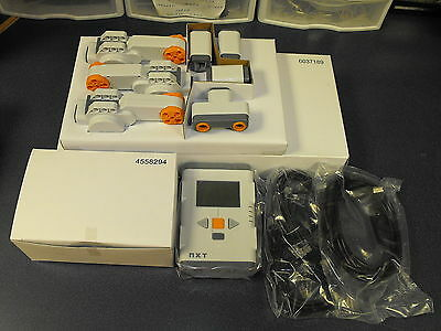 New Mindstorms NXT 2.0 Set Servos, Sensors, Wires & Intelligent Brick New In Box