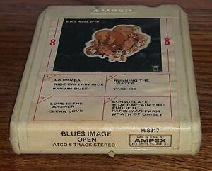 Blues-Image-OPEN-album-8-Track-Tape-cartridge-ATCO-m-8317-classic-psych-rock
