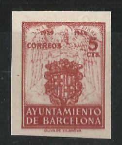 ESPANA-BARCELONA-1944-EDIFIL-58-S-D-NUEVO-SIN-GOMA