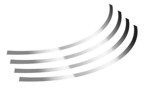 STRISCIA ADESIVA CROMATA CERCHI IN LEGA CERCHI RUOTE AUTO MOTO BICI DA 17/'/' 18/'/'