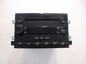 Details About 6l3t 18c869 Ac Ford Mercury Oem Cd Am Fm Radio Stereo Control Module Unit