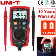 UNI-T UT125C Handheld Auto Range OHM AMP Digital Multimeter AC/DC Voltage Tester