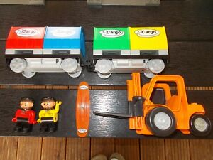Lego® Duplo Railroad - Porte-bagages Intelli 2 U. Codestone Stacker Etc.