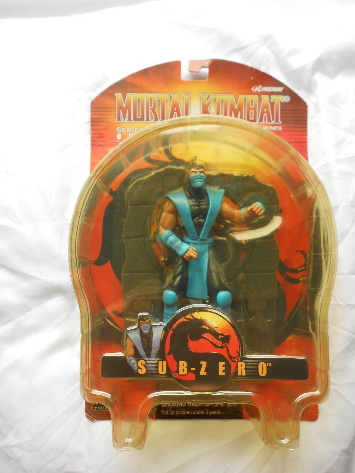 Mortal Kombat Midway Palisades Sub-Zero 6  Action Figure Boxed Complete