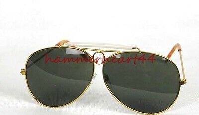 Fear and Loathing Hunter Las Vegas DARK GREEN Sunglasses Glasses Aviator Costume