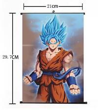 "Hot Japan Anime Dragon Ball Z Son Goku Home Decor Poster Wall Scroll 8/""x12/"""