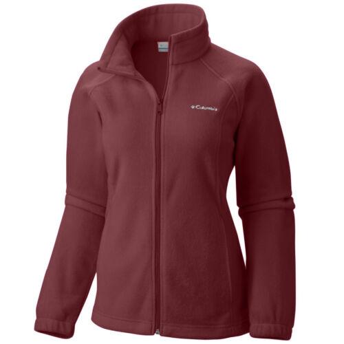 """New Womens Columbia /""""Benton Springs/"""" Full Zip Fleece Jacket Sweaters"""