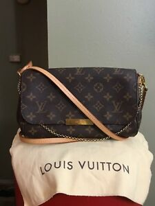 Louis Vuitton Favorite Pm Crossbody Bag Authentic Monogram