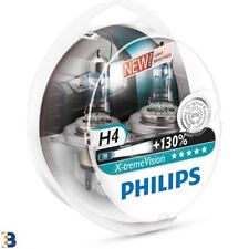 Philips H4 X-treme Vision 472 130% brighter headlight bulbs 12342XV+S2 SET
