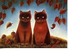 POSTCARD CARTE POSTALE ILLUSTRATEUR ANNA HOLLERER N° LA 128 / CAT / CHAT