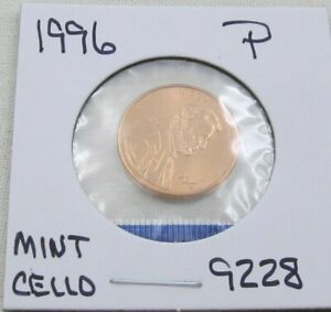 1996 P /& D Lincoln Memorial Cent Penny Set *MINT CELLO*   **FREE SHIPPING**