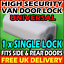 Ford Transit-Custom-Connect-Courier Van Door Locks High Security For 1995-2019