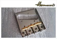 Ash Tray, Vintage Telecaster Bridge mit Messing Sätteln, Tele Guitar Bridge