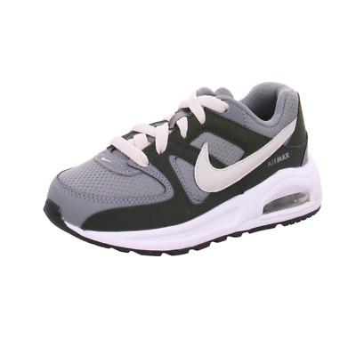 Dettagli su Scarpe sportive bimbo Nike Air Max Command Flex PS 844347 101 Bianco mesh