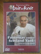 DVD LOUIS DE FUNES * FANTOMAS contre SCOTLAND YARD * HUNEBELLE JEAN MARAIS ATLAS