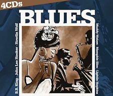 CD Blues von Various Artists  4CDs