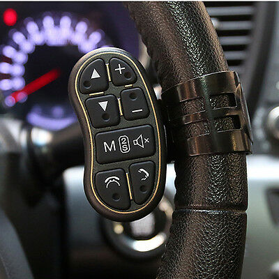 Car Steering Wheel Key Button Remote Control For DVD GPS Wireless Remote Control