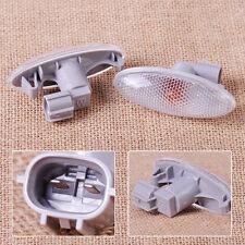 2x Side Turn Signal Lamp Fender Light Fit For Toyota Corolla Camry Yaris RAV4