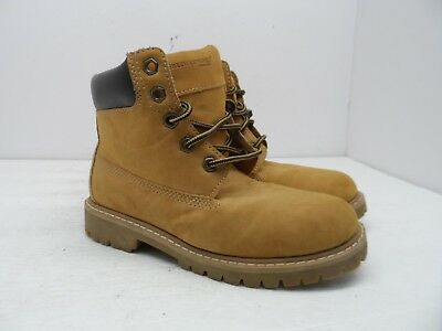 "Kids' Clothing, Shoes & Accs Freeman Work Boy's 4.5"" Soft Toe Casual Work Boot Tan Size 2.5m"