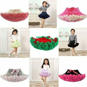 10y princess baby girl 039 s fluffy pettiskirt skirt petti party