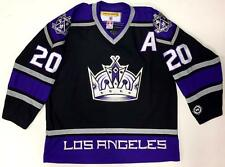 """LUC ROBITAILLE LOS ANGELES KINGS ORIGINAL 2002 KOHO BLACK """"CROWN"""" JERSEY XL NEW"""