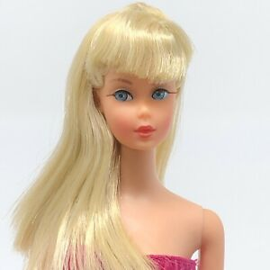 Vintage-Barbie-TNT-Pale-Blonde-GORGEOUS-Twist-N-Turn-Mod-Era