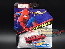 Spider-Man HOMECOMING 2017 Hot Wheels Marvel CHARACTER CARS CASE P BRAND NEW