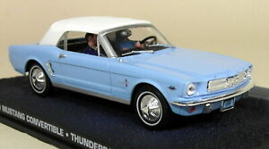 Eon-1-43-Scale-James-Bond-007-Ford-Mustang-Convertible-Thunderball-Diecast-Car