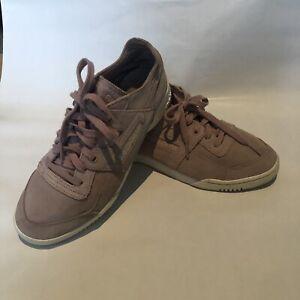 Size UK 6 Reebok Pink Suede Trainers | eBay