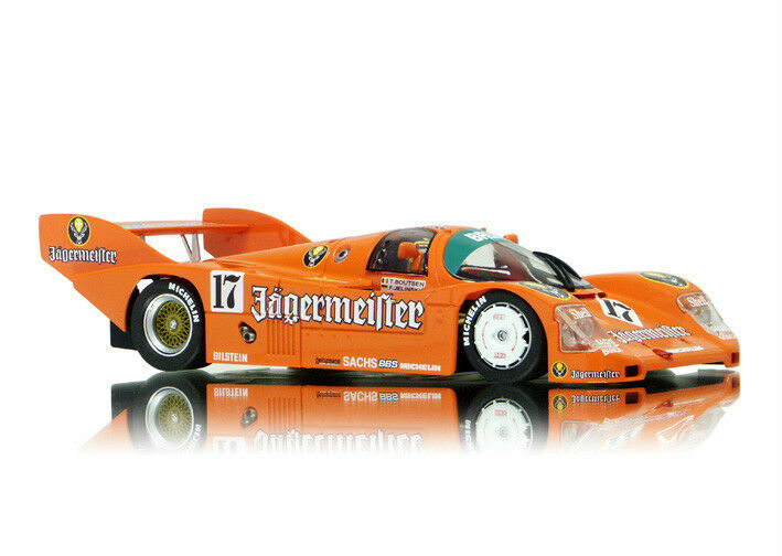 SLOT IT SICA17B PORSCHE 962C KH  JAGERMEISTER  SPA 1000KM 1986 1 32 SLOT CAR
