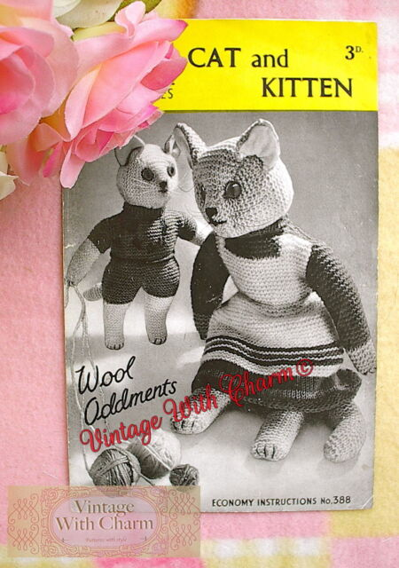 cat toy knitting pattern 99p