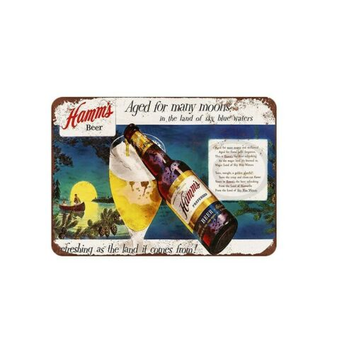 Vintage Metal Tin Sign Garage Plaques Poster Wine Cafe Bar Customization Decor