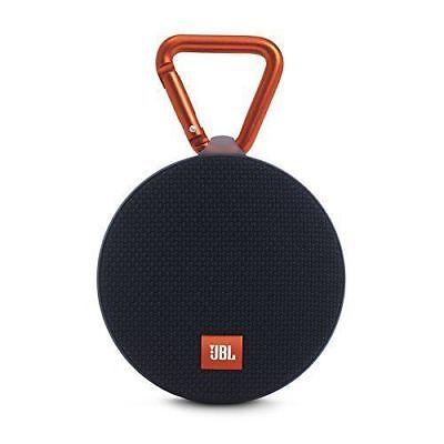JBL Clip 2 Waterproof Portable Bluetooth Speaker (Black)