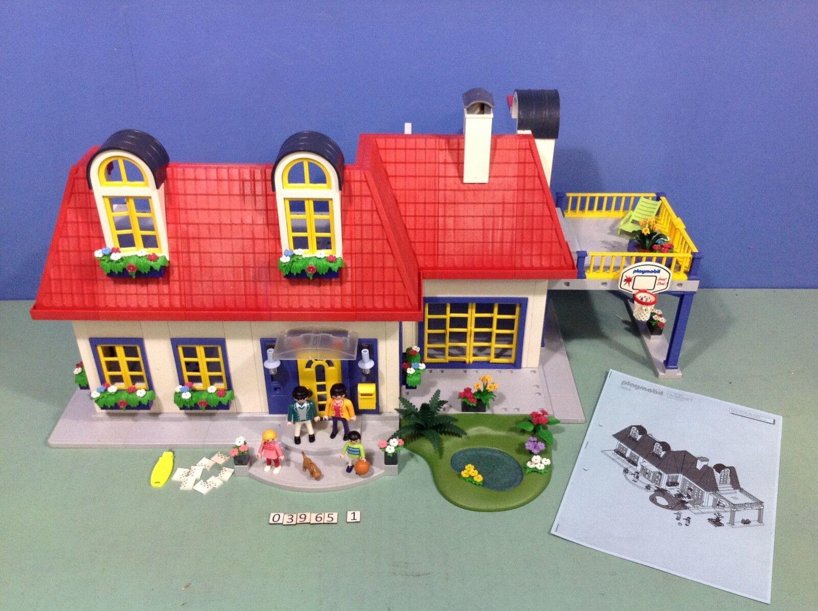 (O3965.1) playmobil Maison de ville ref  3965 complète  jusqu'à 70% de réduction