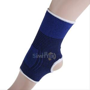 2xElastic-Ankle-Brace-Support-Pad-Guard-Achilles-Tendon-Sports-Strap-Foot