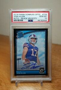 Josh-Allen-Auto-2018-Optic-Black-Velocity-RC-25-PSA-10