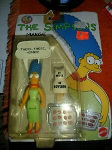 1990 Mattel Marge Simpson Things Mom Would Say Figure in Package