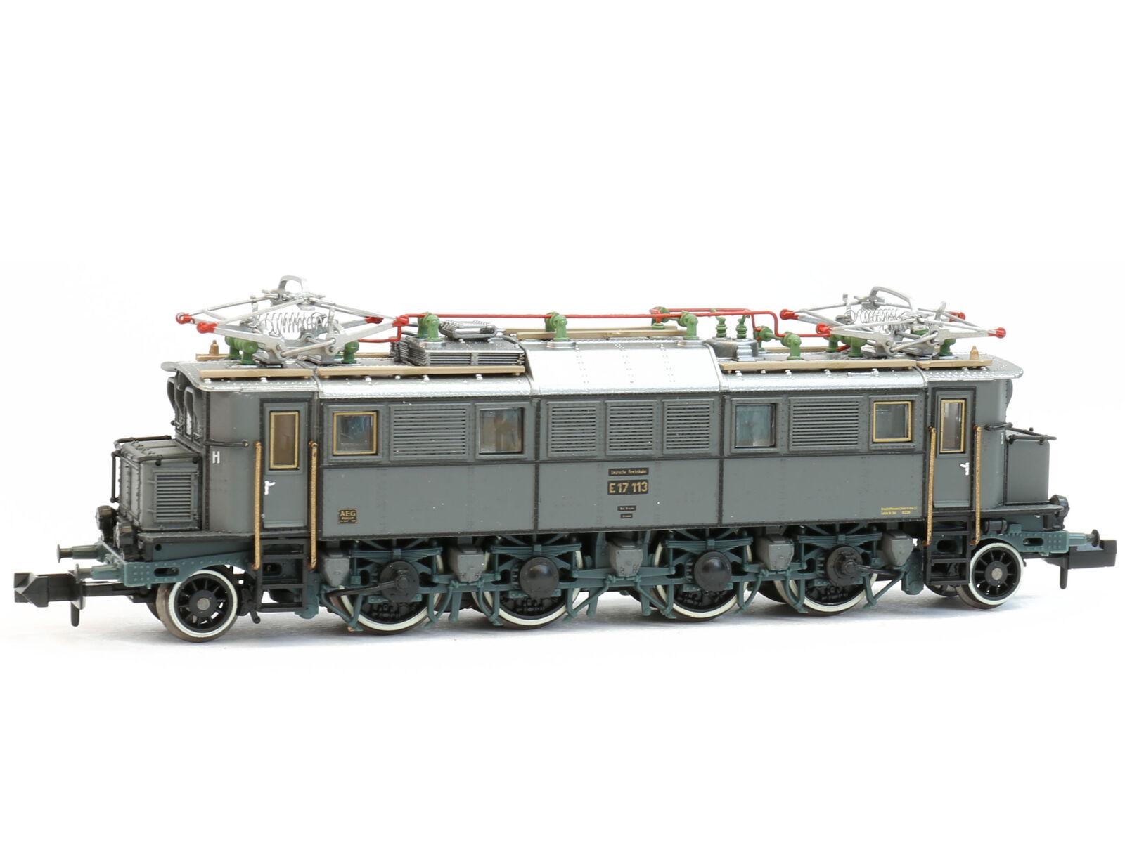 Hobbytrain h2890s-DCC SOUND Elektrolok BR e17 DRG grigio, Ep. II-Spur N-NUOVO