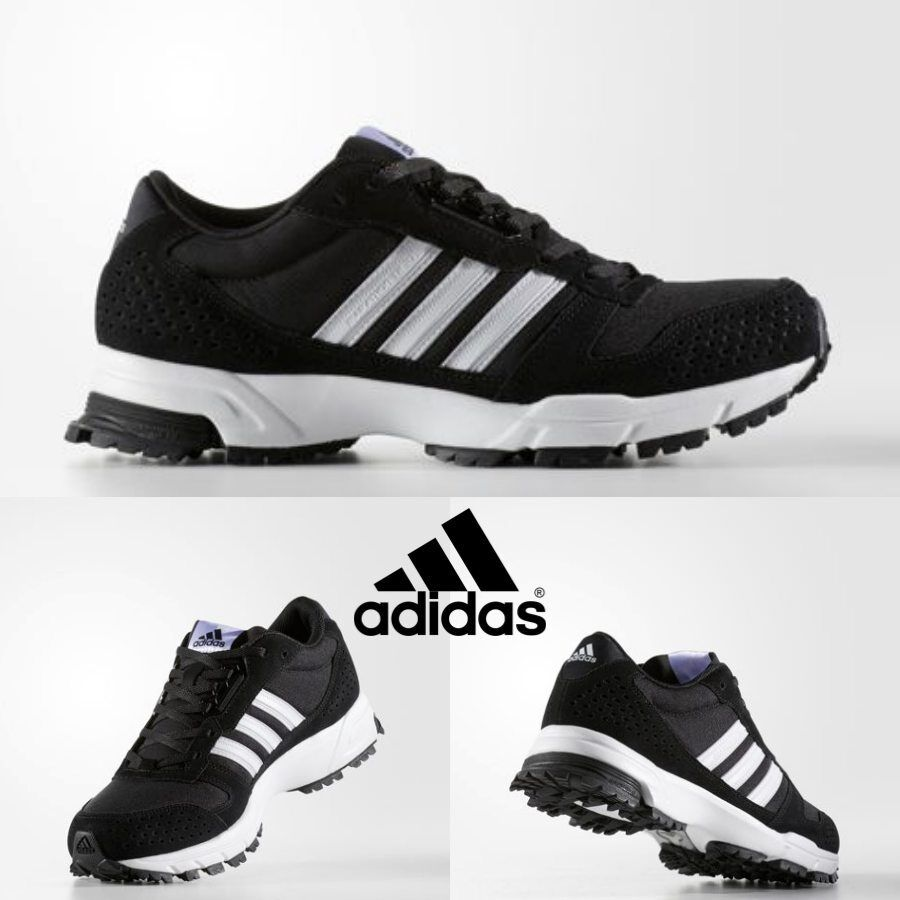 6cf6a45e3478 Adidas Marathon 10 TR Running Sneakers Ugly Shoes Black BW1290 SZ 4-11🔥.  LIMITED QUANTITY AVAILABLE. black