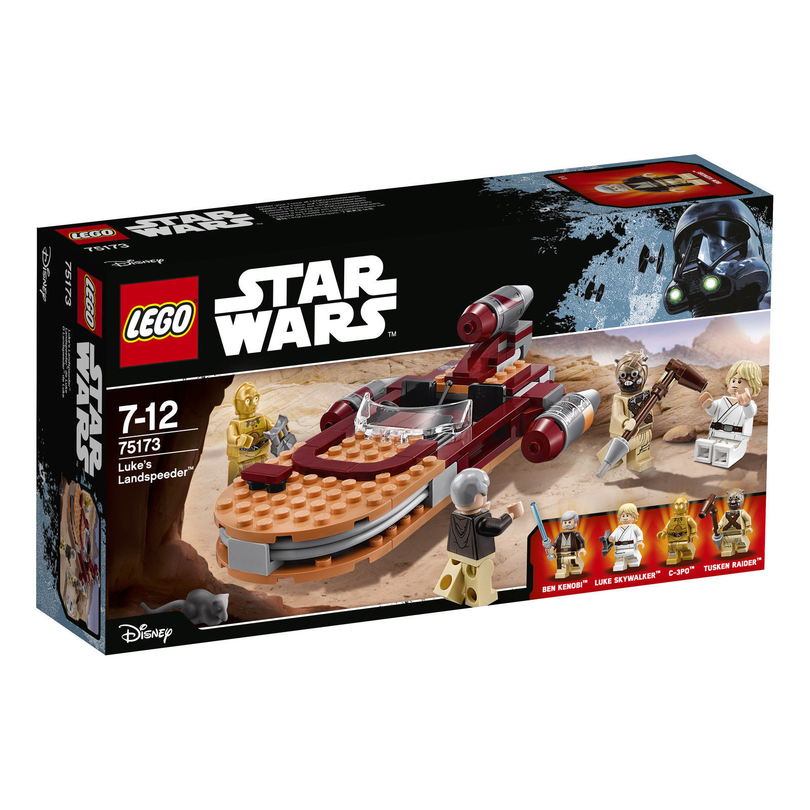 LEGO® Star Star Star Wars™ 75173 - Luke's Landspeeder NEU OVP versiegelt 2a44a1