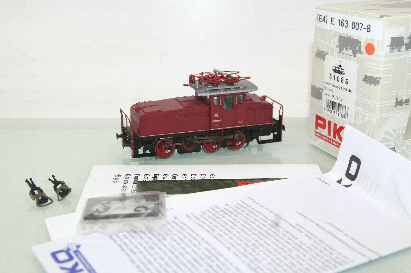 Picoch H0 51085 e - rangierlok BR 163 007 - 8 BBC der DB neuwertig in ovp (cl4833)