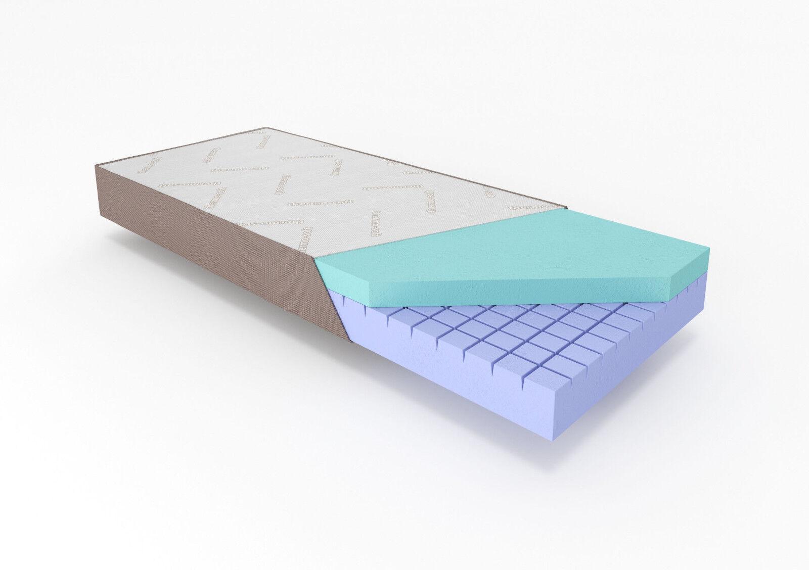 VISCO MATRATZE -THERMO-SOFT COMFORT COMFORT COMFORT 180x200x20,5cm 1236eb