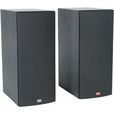 """MTX Monitor 60i Dual 6-1/2"""" 2-Way Bookshelf Speaker Pair"""