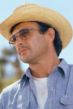 James Stacy Great Pose In Purple Shirt And Sunglasses And Hat 11x17 Mini Poster