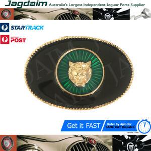 New Jaguar Black Gold And Green Growler Belt Buckle