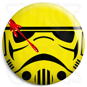 25mm Star Wars Wedding Button Badge with Fridge Magnet Option Usher