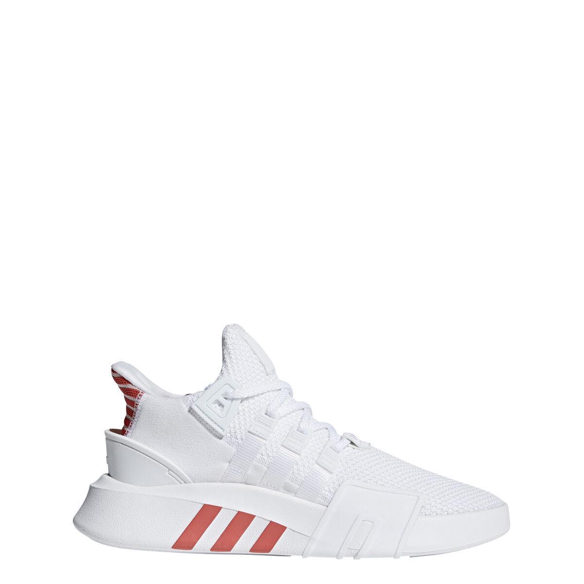 adidas MENS EQT BASK ADV CREAM WHITE/WHITE/ORANGE - CQ2992
